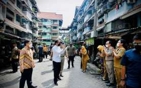 Covid-19 Jakarta Mengkhawatirkan! Jokowi Targetkan 7,5 Juta Orang Divaksinasi Akhir Agustus