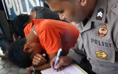 Polres Mataram Tangkap 86 Preman Anggota FBR