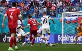 Fakta Pertandingan Euro 2020: Rusia Akhiri Tren Buruk, Gol Ke-6 Miranchuk