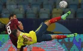 Hasil Copa America : Seri 0–0 vs Venezuela, Kolombia Geser Brasil