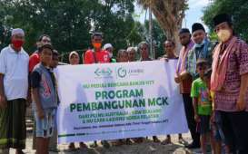 Pemulihan NTT, NU Care Bangun MCK untuk Warga di Timor Tengah Selatan