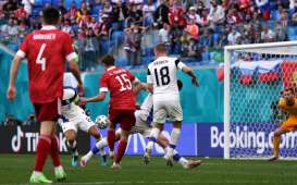 Hasil Pertandingan Lengkap Matchday II dan Klasemen Grup B Euro 2020