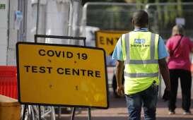 Prevalensi Covid-19 di Inggris Naik secara Eksponensial
