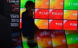 IHSG Dibuka Koreksi, Saham BBRI dan BANK Masih Diburu Asing