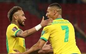 Hasil Copa America, Brasil Benamkan Peru 4 Gol Tanpa Balas