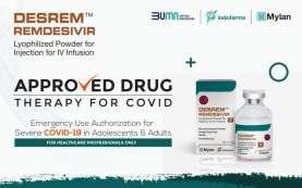 Indofarma (INAF) Rilis Obat Terapi Pasien Covid-19, Harga Rp7.000