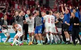 Detik-Detik Denmark Memastikan Tiket Lolos ke 16 Besar Euro 2020