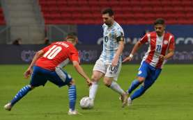 Hasil Pertandingan Copa America 2021 Grup A: Argentina vs Paraguay 1-0