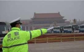 China Tutup Lapangan Tiananmen dan Kota Terlarang, Drone Dilarang Melintas