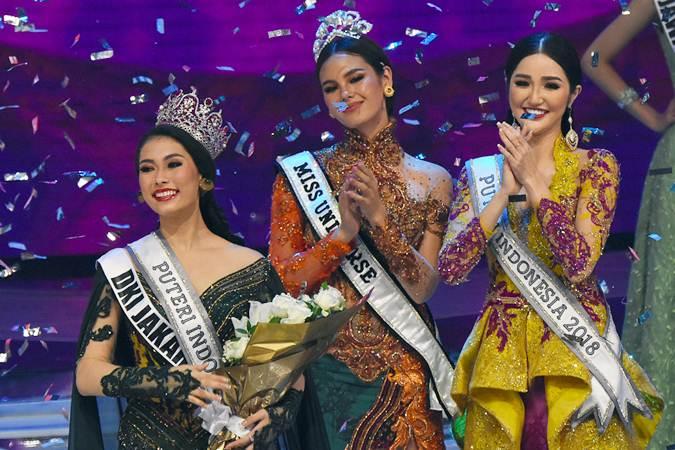 Frederika Alexis Cull Terpilih Jadi Puteri Indonesia 2019
