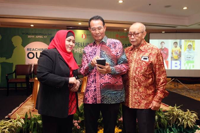 Peluncuran Aplikasi Hemofilia Indonesia