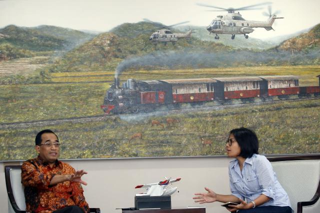 Budi Karya Sumadi Menerima Kunjungan Tim Bisnis Indonesia