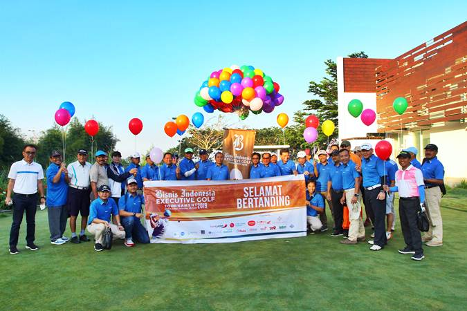 Foto-foto Kegiatan Bisnis Indonesia Executive Golf Tournament 2019 di Malang