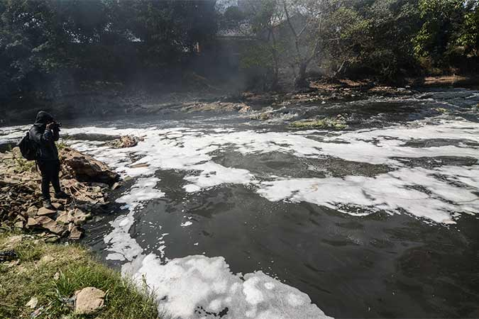 Sungai Di Kabupaten Bekasi Tercemar Limbah