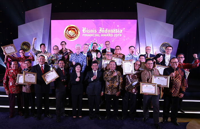 BISNIS INDONESIA FINANCIAL AWARD 2019