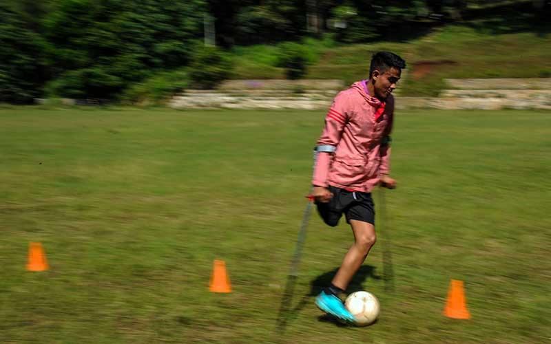 Atlet Timnas Indonesia Amputee Football Kembali Jalani Latihan Jelang Piala Asia