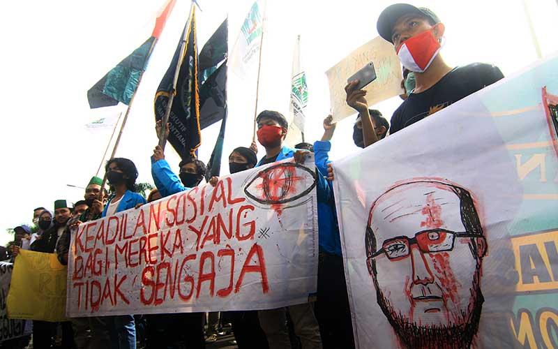 Aliansi Mahasiswa Kalbar Menuntut Keadilan Untuk Kasus Novel Baswedan