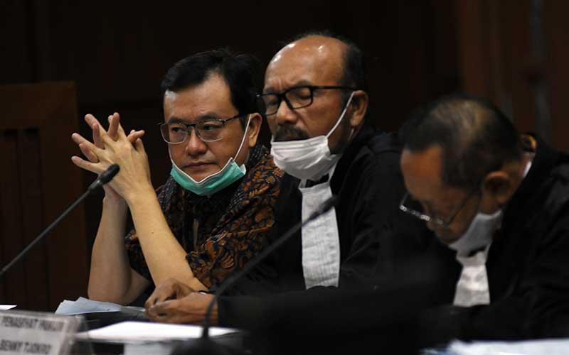 Benny Tjokrosaputro Jalani Sidang Lanjutan Kasus Jiwasraya