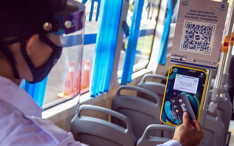 Transjakarta Uji Coba Bus Listrik Dengan Rute Balaikota-Blok M Hingga 3 Bulan Kedepan