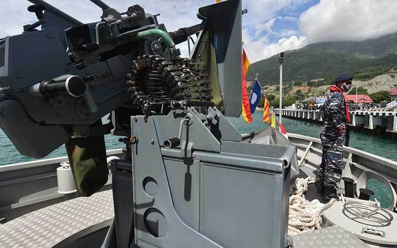 Kapal Perang Talise Disiagakan di Palu Untuk Perkuat Pertahanan