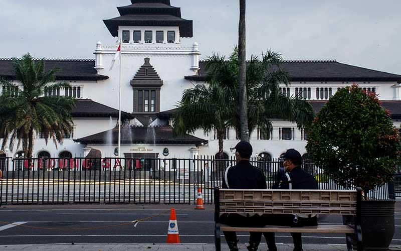 40 Karyawan Dinyatakan Positif Covid-19, Gedung Sate Bandung Ditutup Selama 14 Hari