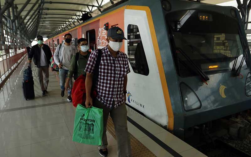 Kereta Bandara Kualanamu Medan Kembali Beroperasi