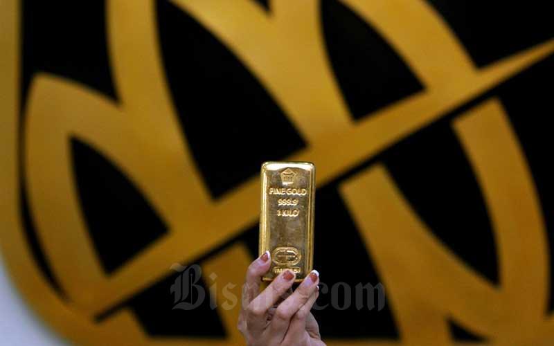Harga Emas Antam Cetak Rekor Tertinggi Dengan Berada di Posisi Rp1.054.000 per Gram
