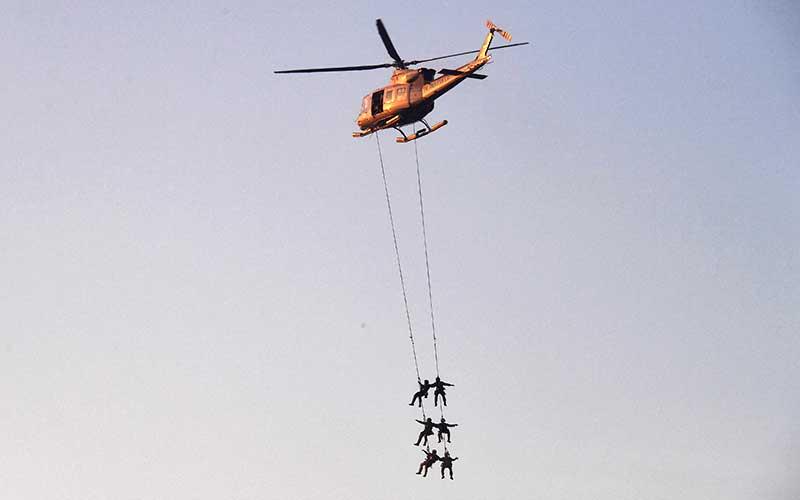 Pasukan Katak Bersama Pasukan Khusus Intai Amfibi Marinir Gelar Latihan Gabungan