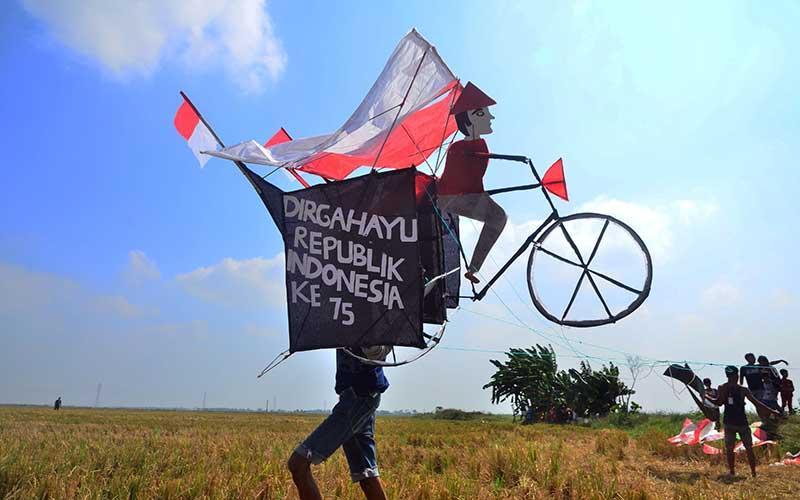 Festival Ngumbulno Layangan Meriahkan Perayaan HUT ke-75 RI di Jawa Tengah