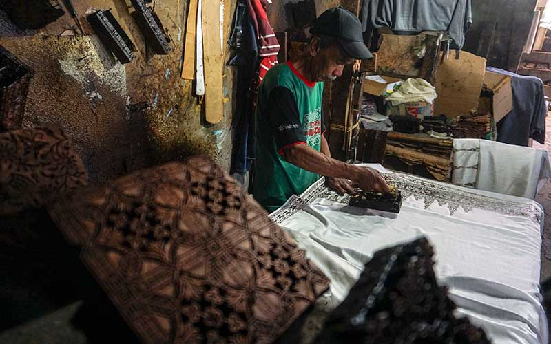 Produksi Batik Cap Pekalongan Menurun Hingga 70 Persen Karena Pandemi Covid-19