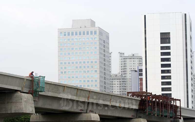 LRT Jakarta Akan Sediakan 18 Stasiun Pemberhetian dan Diproyeksikan Mampu Layani 116.000 Penumpang Per Hari