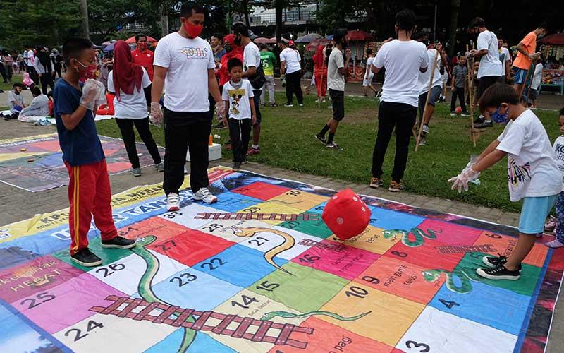 Kpoti Medan Kenalkan Permainan Tradisional Kepada Anak Anak Bisnis Com