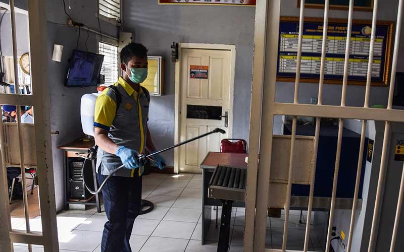 Cegah Klaster Covid-19 di Lapas, Kanwil Hukum dan HAM Riau Perketat Protokol Keshatan
