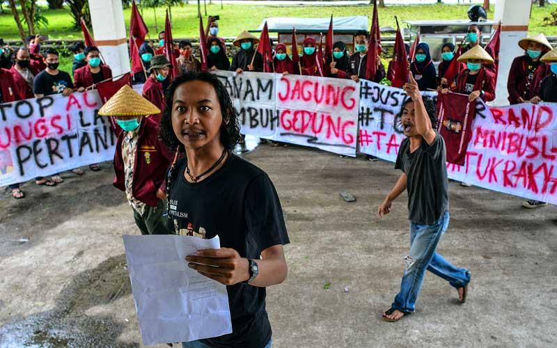 Mahasiswa Gelar Aksi Tuntut Pemerintah Jalankan Reformasi Agraria