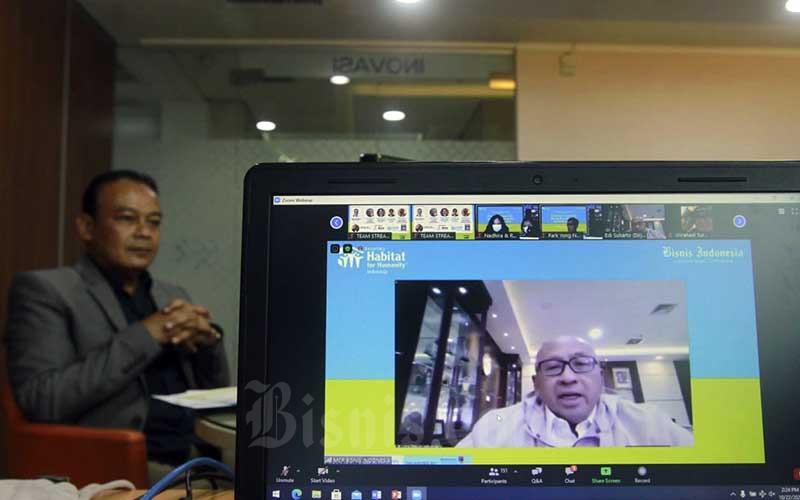 Bisnis Indonesia Bersama Habitat for Humanity Indonesia Gelar Webinar Bahas Progam CSR