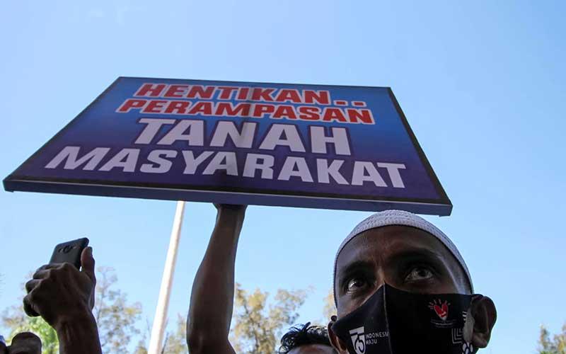 Petani di Aceh Gelar Aksi Menuntut Pemerintah Mengeluarkan Sertifikat Tanah Mereka