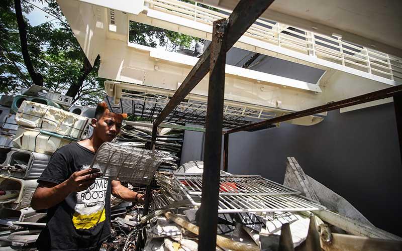 Limbah Elektronik di Jakarta Pada Periode Februari Sampai Oktober 2020 Mencapai 22 ton