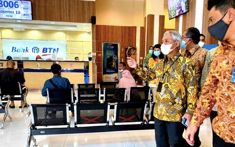 Direksi BTN Lakukan Kunjungan Ke Cabang-Cabang Tinjau Penerapan Protokol Kesehatan