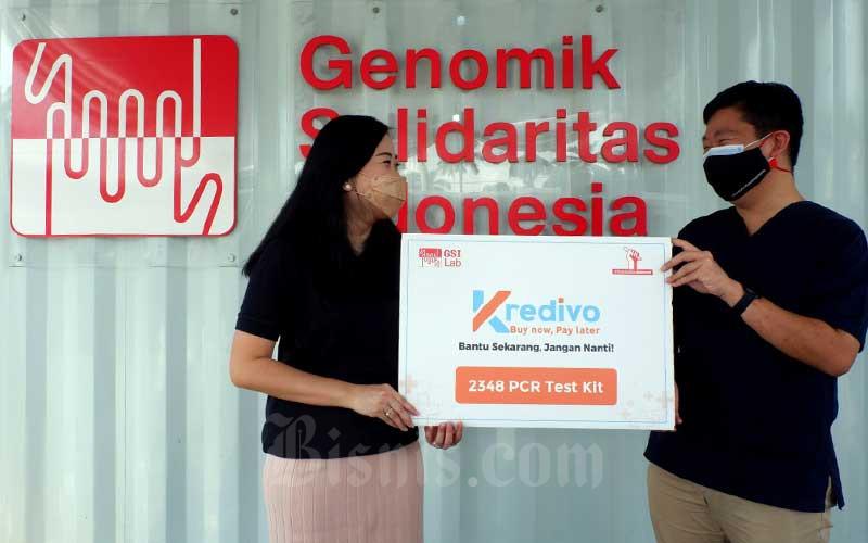Kredivo Donasikan Lebih dari 2.000 Test PCR KE GSI Lab