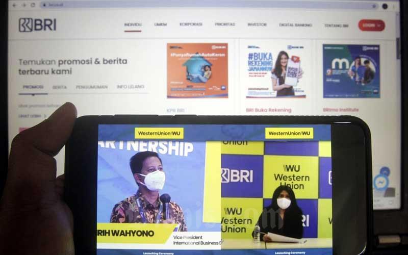 BRI Kerja Sama Remitansi Dengan Western Union