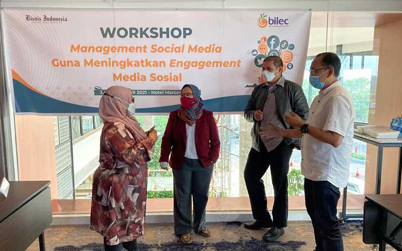 KPPU Gandeng BILEC Gelar Workshop Management Social Media
