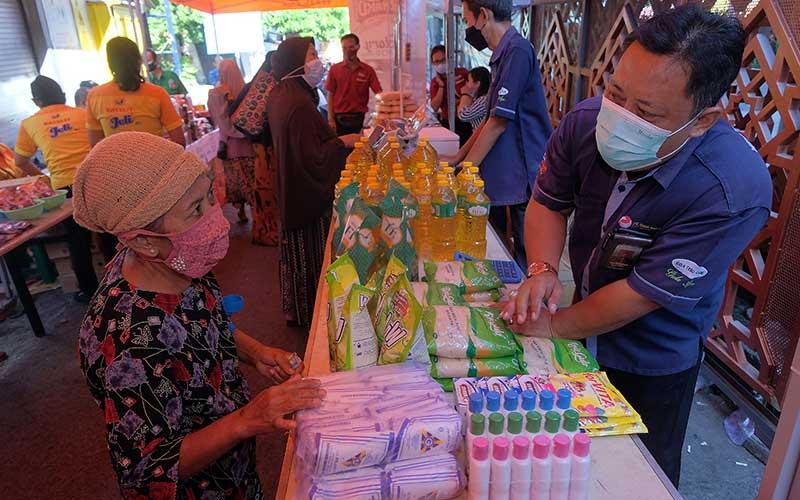 Jelang Lebaran, Pemerintah Kota Denpasar Gelar Pasar Murah