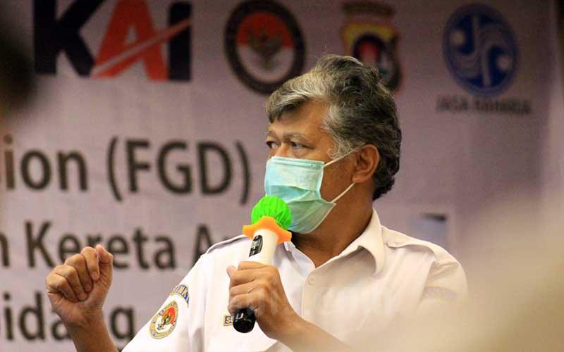 KNKT Evaluasi Keselamatan Pelintasan Sebidang di Indonesia