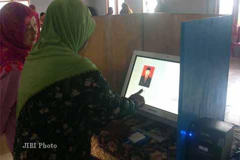 e-Pemilu dipakai untuk Pemilihan Kepala Desa  -  jibi