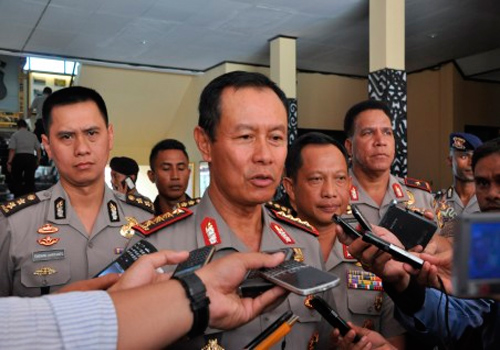 Kapolri Jenderal Polisi Sutarman  - antara