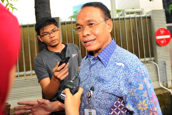 Pejabat Gubernur Riau Djohermansyah Djohan  - antara