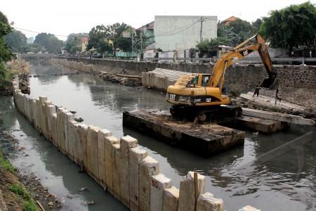 PU rancang normalisasi sungai untuk atasi banjir  -  Ilustrasi