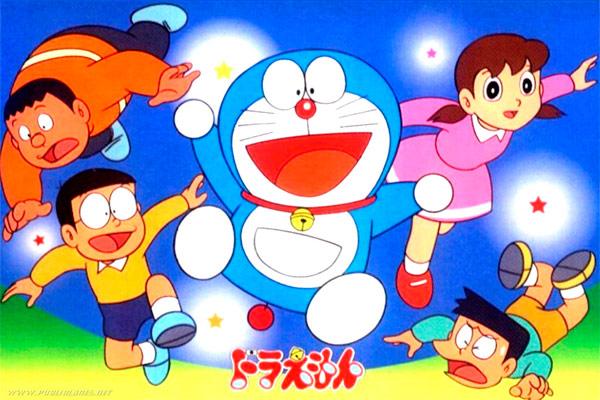 Doraemon menjadi karakter yang sesuai dengan konsep yang ingin disampaikan dan mewakili citra merek Sharp.  - absoluteanime.com