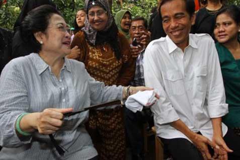 Megawati dan Jokowi - Antara