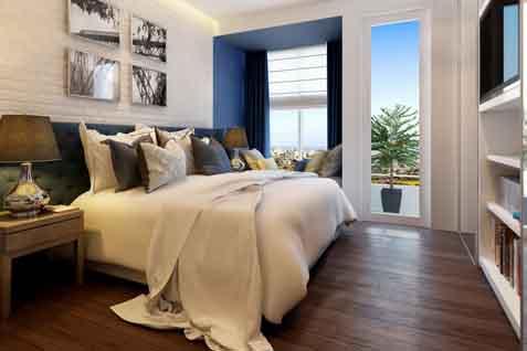 Tipe kamar yang disiapkan meliputi tipe studio, satu kamar, dua kamar, dengan luasan mulai dari 28 m2 - 50 m2.  - bisnis.com